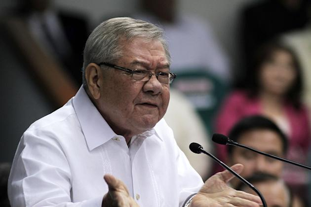 File photo: House Speaker Feliciano Belmonte