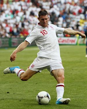 James Milner (pictured) is worried the 'real' Mario Balotelli will turn up on Sunday