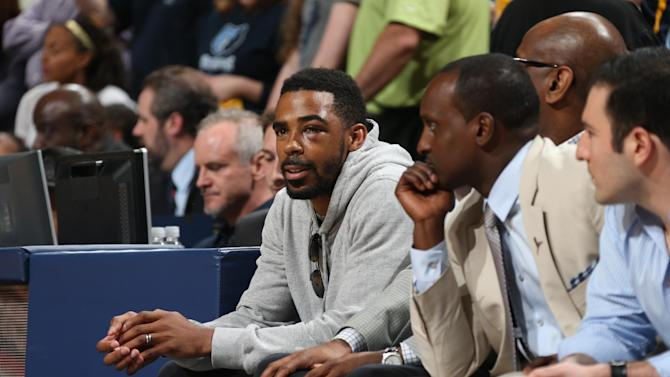 Grizzlies point guard Mike Conley out for Game 1 vs Warriors