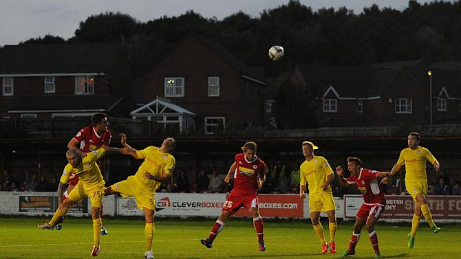 Soccer - Capital One Cup - Second Round - Accrington Stanley v Cardiff City - Crown Ground