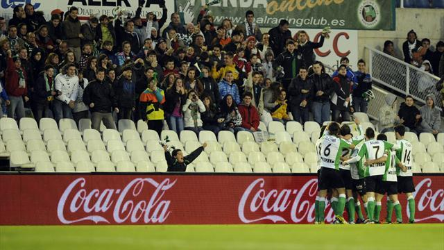 Liga - Probe launched after Santander fans storm VIP tribune