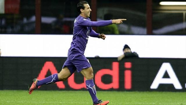 Serie A - El Hamdaoui rescues point for Fiorentina