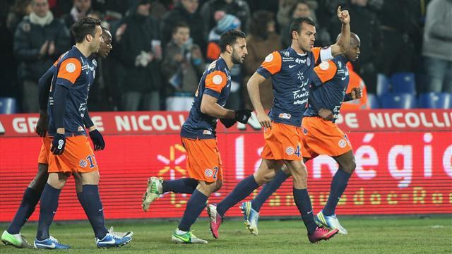 Ligue 1 - Montpellier boost Euro hopes with win