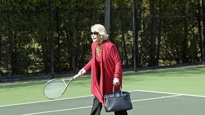 Joan Rivers stars in the TVLand series How'd You Get So Rich?.