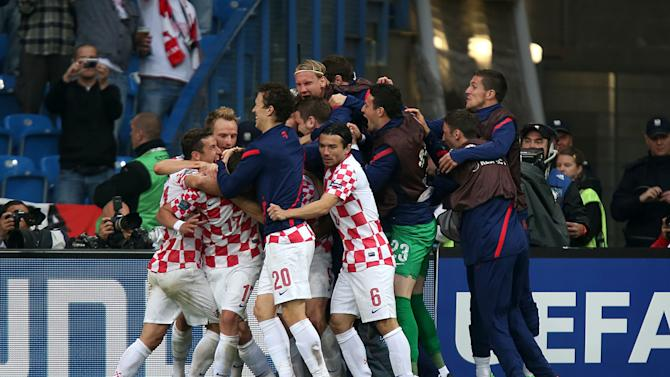 Croatia took a huge step towards the quarter-finals with a draw against Italy