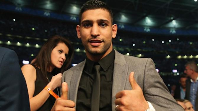 Boxing - Amir Khan could face American Adrien Broner in mouthwatering clash