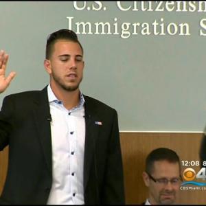 Marlins' Jose Fernandez Becomes U.S. Citizen