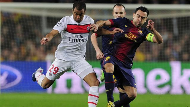 Champions League - Xavi smashes passing record in PSG game