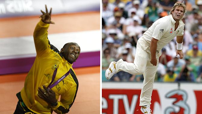 "Shane Warne to Usain Bolt: ""Come and play T20″"