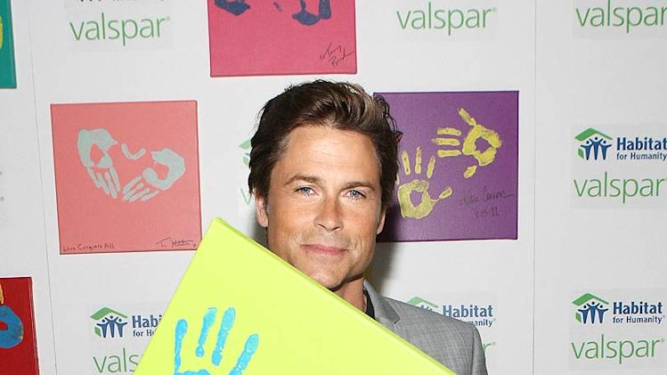 Rob Lowe Habitat For Humanity