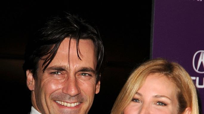 23rd Annual American Cinematheque Awards Jon Hamm Jennifer Westfeldt
