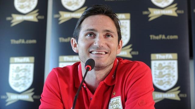 South American Football - Lampard touched by name tribute