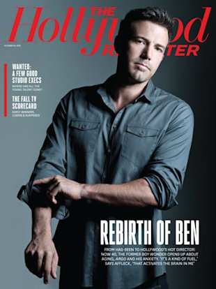 Portada Ben Affleck The Hollywood Reporter