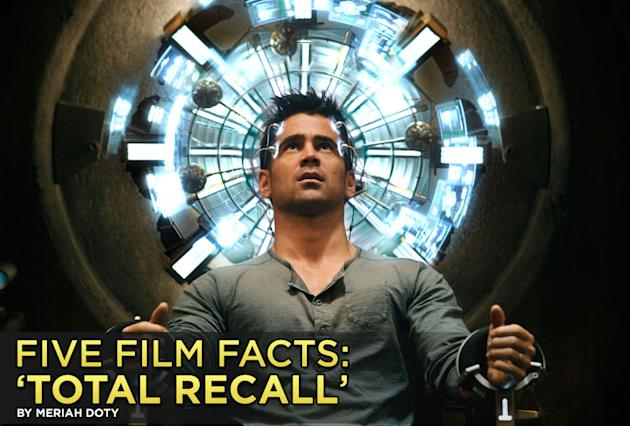 Five Film Facts Total Recall