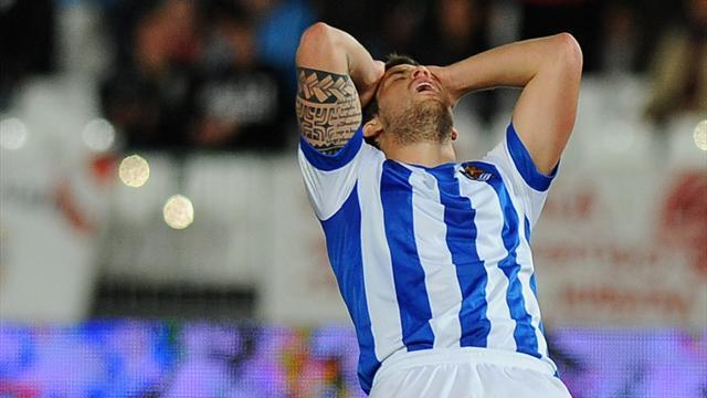 Liga - Granada snatch point to leave Real Sociedad waiting