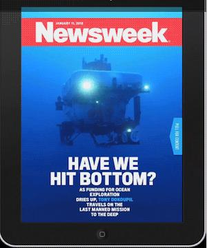 How Newsweek Made Its First Moving Cover Art