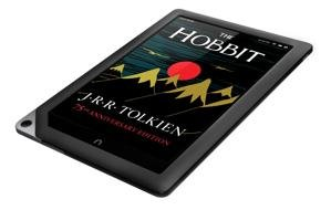 ebook reader or tablet