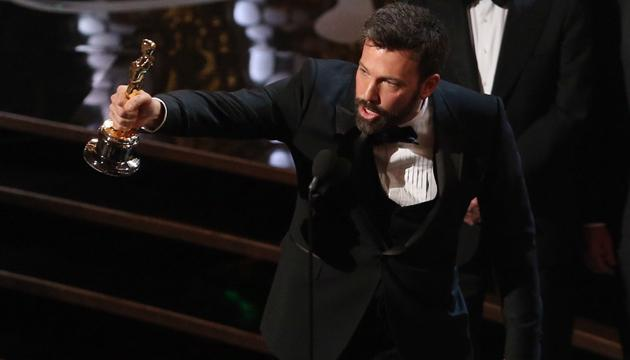 Redemption... Affleck's 'Argo' wins top prize (Credit: Getty)