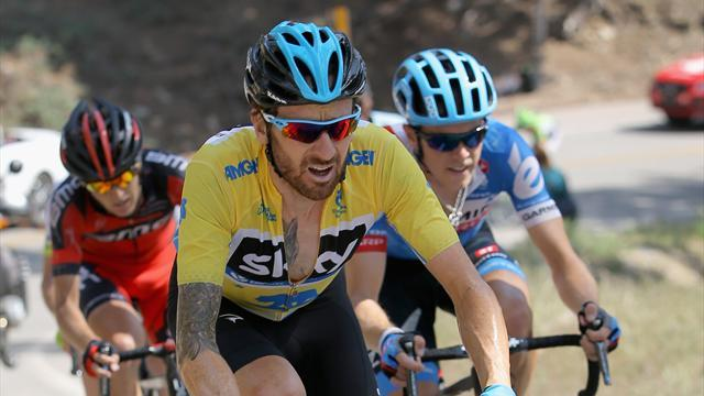 Cycling - Wiggins extends lead at Tour of California