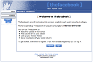 Facebook History: A Look Back At The Last 10 Years Of Facebook image Thefacebook