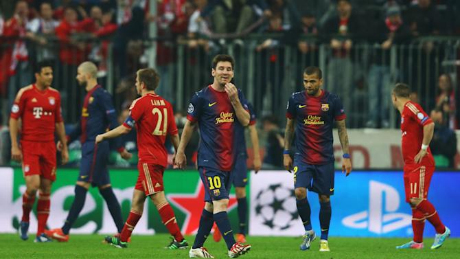 FC Bayern Muenchen v Barcelona - UEFA Champions League Semi Final: First Leg