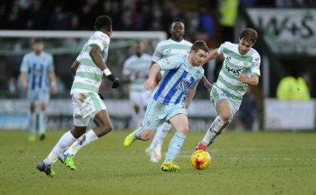 Soccer - Sky Bet League One - Yeovil Town v Coventry City - Huish Park