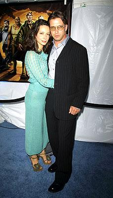 Premiere: Stephen Baldwin and wife at the New York premiere of Disney's Atlantis: The Lost Empire - 6/6/2001