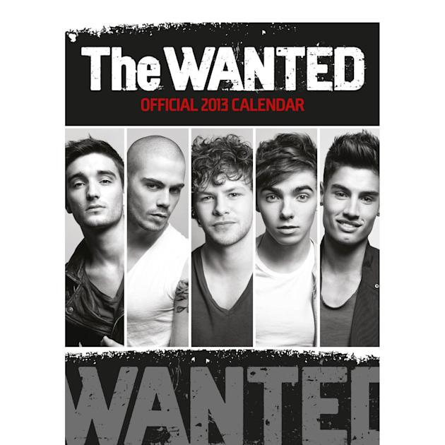 Best selling celebrity calendars for 2013: Number 10, The Wanted