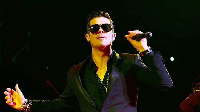 Thicke Robin MSG Concert