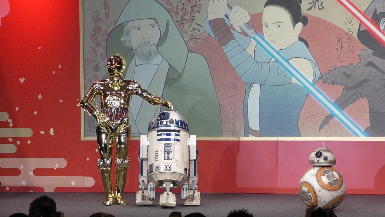 <p>C-3PO、R2-D2和BB-8這三位惹人喜愛的機器人,也會再次於《Star Wars:最後的絕地武士》中逗趣登場。 </p>