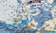Weather: Heavy Snow As 80mph Winds Blow In