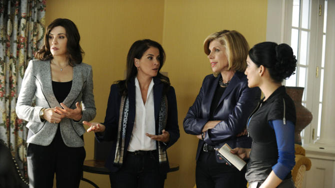"""""""The Good Wife"""" -- """"Waiting for the Knock"""""""