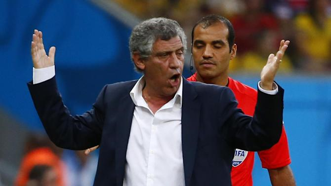 World Cup - Fernando Santos appointed Portugal manager