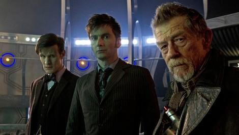 Three Doctors in a TARDIS. What can possibly go wrong...?
