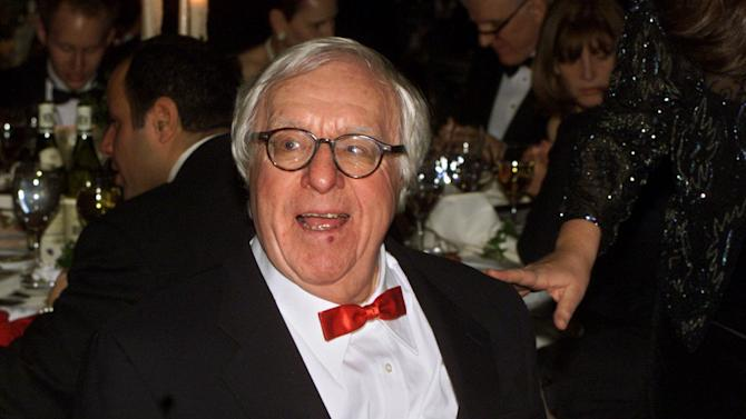 FILE - This Nov. 15, 2000 file photo shows science fiction writer Ray Bradbury at the National Book Awards in New York where he was given the Medal for Distinguished Contribution to American Letters. Bradbury, who wrote everything from science-fiction and mystery to humor, died Tuesday, June 5, 2012 in Southern California. He was 91.  (AP Photo/Mark Lennihan, file)