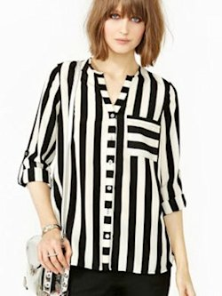 Straight up blouse