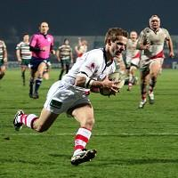 Paul Marshall contributed two tries towards Ulster's victory