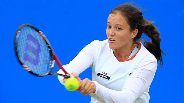 US Open - Robson seeded at a Grand Slam for first time