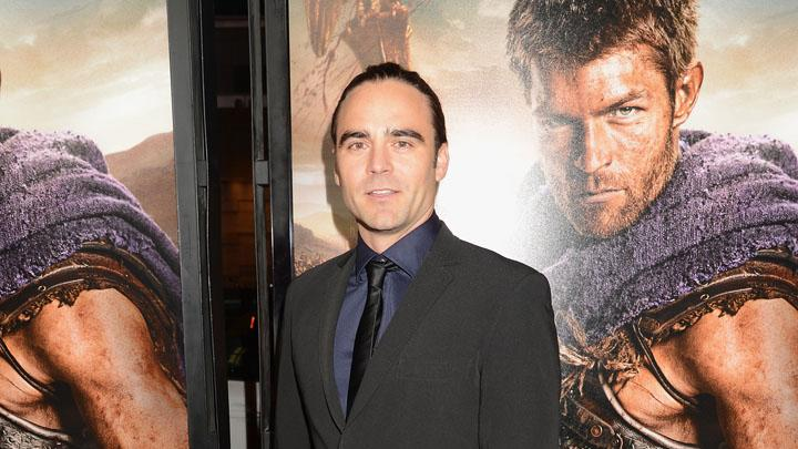 """Spartacus: War Of The Damned"" - Los Angeles Premiere - Red Carpet: Dustin Clare"