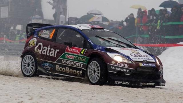 WRC - Ostberg welcomes Monte's fifth place
