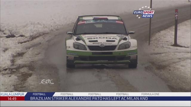 Rally Austria - Kopecky leads after opening day of ERC