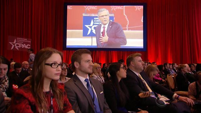 Jeb Bush takes on tough crowd at CPAC