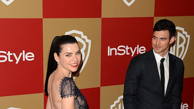 14th Annual Warner Bros. And InStyle Golden Globe Awards After Party - Arrivals: Julianna Margulies