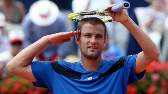 Tennis - Youzhny to face Haase in Gstaad final