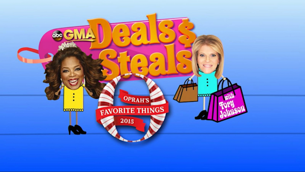 Good Morning America View Your Deal : Gma deals and steals oprah winfrey edition watch the