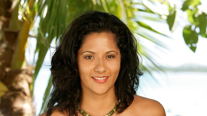 Cecilia Mansilla a technology risk consultant from Oakland, Calif. (Originally From Arequipa, Peru), competes in the reality series Survivor: Cook Islands on CBS.