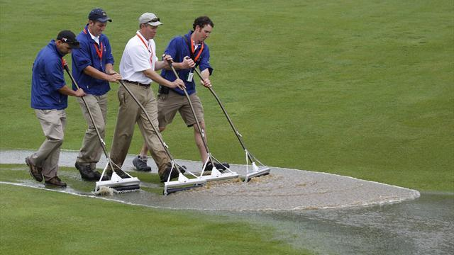 US Open - Players worried mud will stick