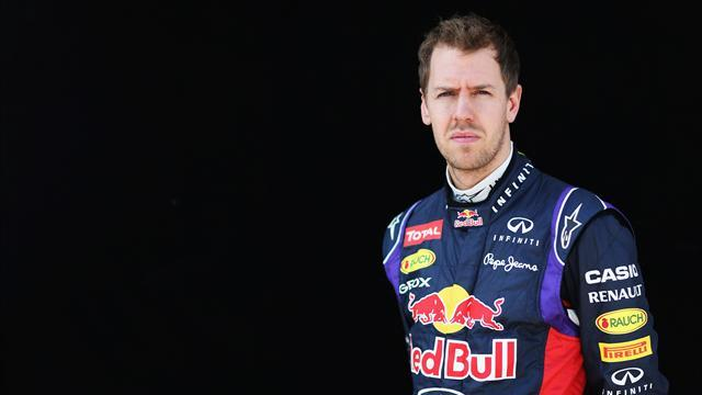 Formula 1 - Vettel behind off track as well as on it