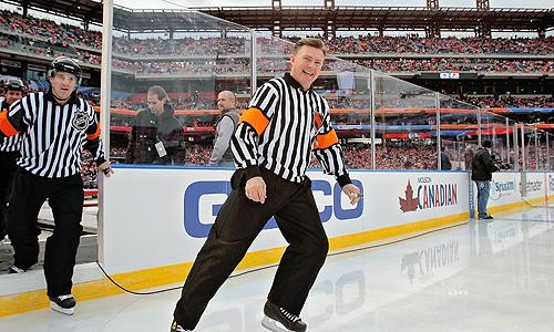 Ex-NHL referee Kerry Fraser