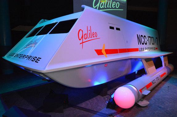 'Star Trek's' Shuttlecraft Galileo Warps Into Space Center Houston